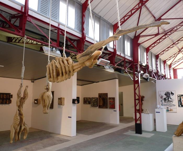 Les Carcasses exposition Halle Roublot 2