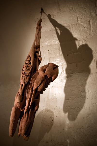 Homme-viande I Galerie Marie Vitoux