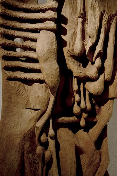 Carcasse V detail Galerie Marie Vitoux